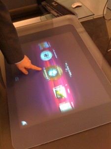 Playing with Microsoft's Table-Surface