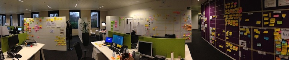 Scrum, Agile &amp; Lean in Belgium - Lessons Learned using Lean and Agile methods